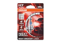 Osram Night Breaker Laser +150% 64210NL-01B H7 12V 55W, 1ks blist